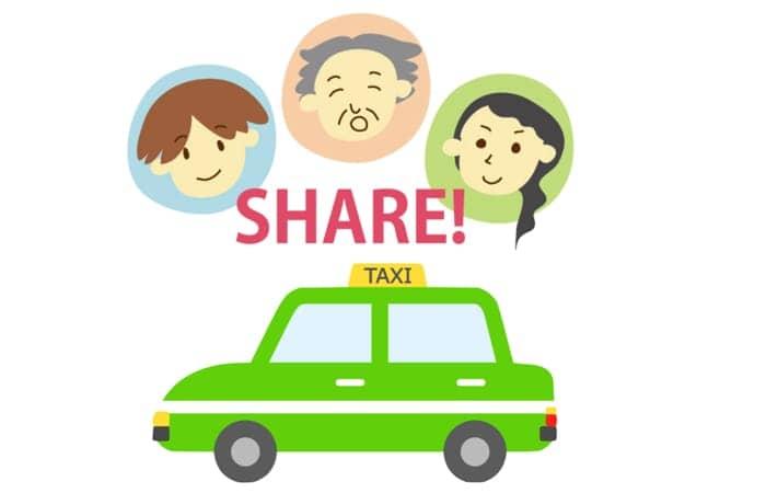 相乗りタクシーの詳細